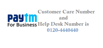 Paytm Payment Business Helpdesk Number Customer Care Number