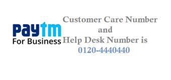 Paytm Payment Business Helpdesk Number Customer Care Number