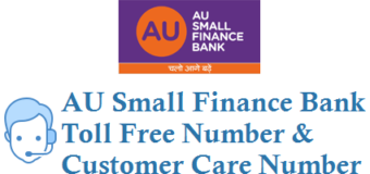 AU Small Finance Bank Toll Free Number Customer Care Number